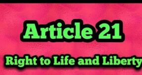 A Human Rights Perspective in Expansion of Article 21 of the Constitution of India