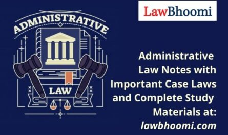 Administrative Law Notes