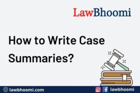 How to Write Case Briefs?